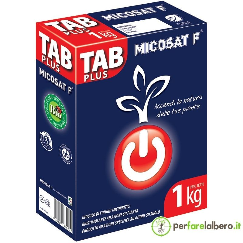 Micosat F Tab Plus WP fertilizzante naturale 1 kg