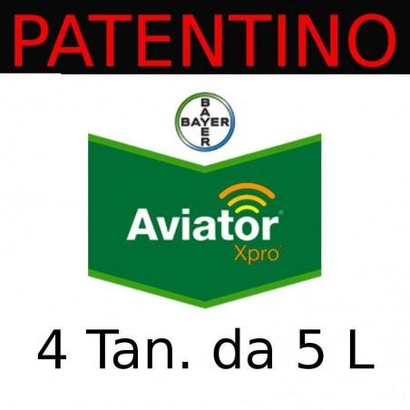 Aviator Xpro BAYER fungicida sistemico frumento orzo avena segale triticale - 4 Taniche da 5 litri