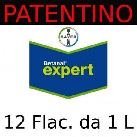 Betanal Expert BAYER erbicida post-emergenza barbabietola - 12 Flaconi da 1 litro