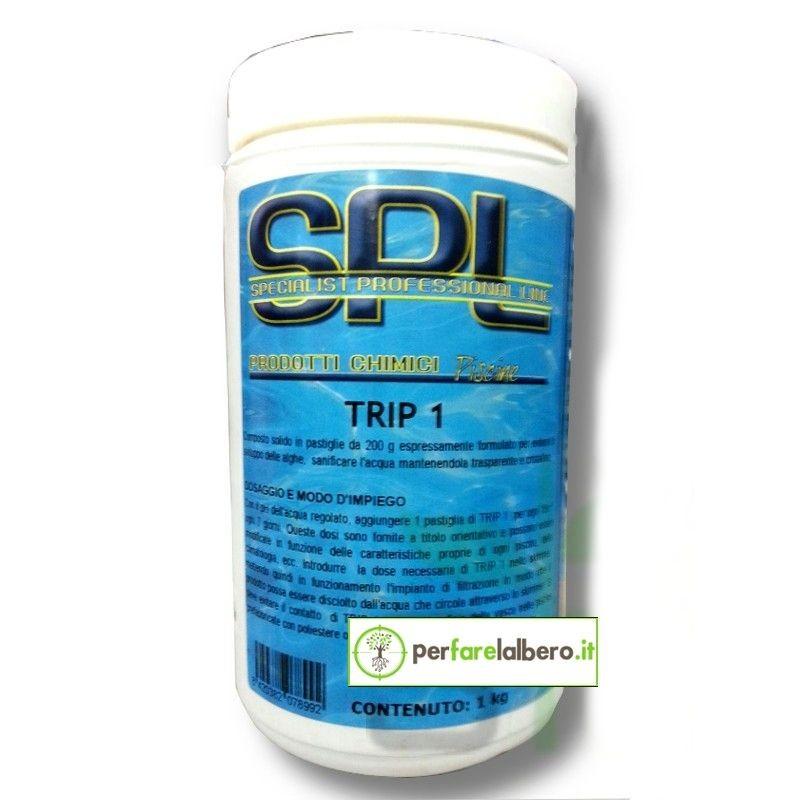 TRIP - Disinfettante Antialghe per piscine