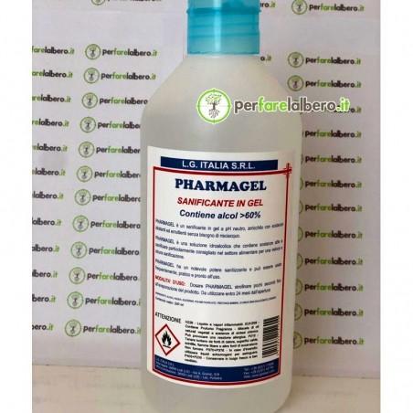 PHARMAGEL Sanificante in gel a pH neutro soluzione idroalcolica senza bisogno di risciacquo - 500 ml