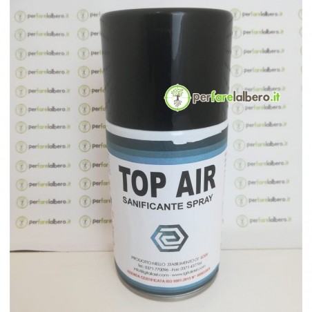 TOP AIR Sanificante Spray per ambienti 250 ml per macchinette