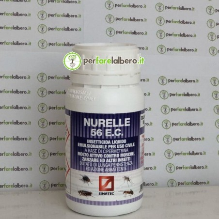 Nurelle 56 E.C. insetticida liquido emulsionabile ad ampio spettro per uso civile a base di cipermetrina