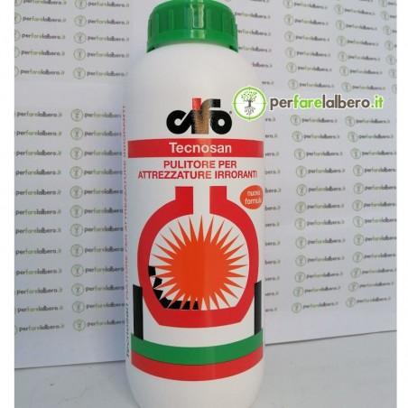 Tecnosan pulitore per attrezzature irroranti elimina ogni principio attivo residuale 1LT