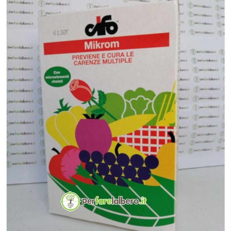 Mikrom concime in polvere solubile a base di microelementi previene e cura le carenze multiple 1 Kg