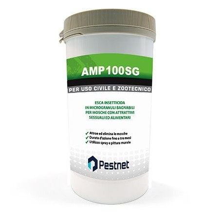 AMP 100 SG moschicida pitturabile in microgranuli idrosolubili 1 Kg