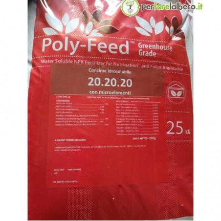 Poly-feed Haifa Concime idrosolubile NPK 20.20.20 + Me 25 kg