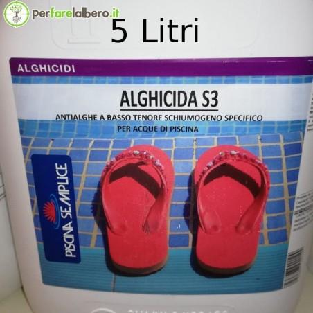 Alghicida S3 Antialghe per piscina a basso tenore schiumogeno specifico