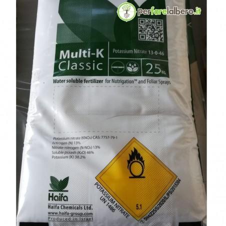Multi-K classic Haifa Nitrato Potassico ad alto titolo NK 25 kg