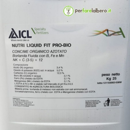 Nutri Liquid Perfect Fit Pro Bio ICL 3-0-5+TE 25 kg