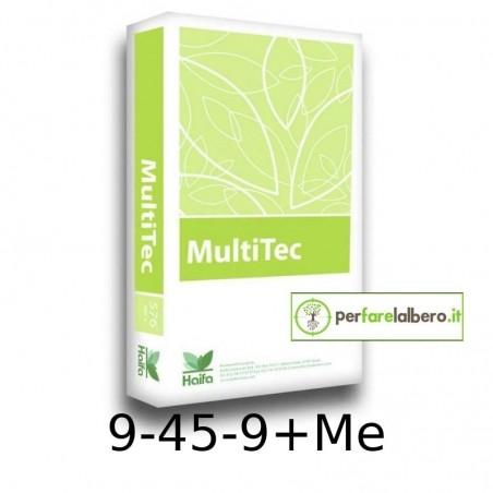 Haifa MultiTec 9 45 9 + Me concime idrosolubile a reazione acida 15 kg