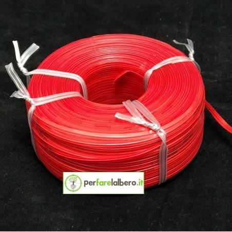 Rotolo Bobine Filo per legatrice PELLENC Fixion - Modello - Rosso Standard 200 metri