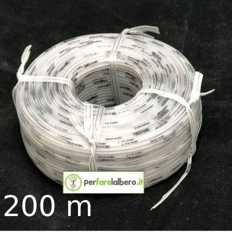 Rotolo Bobine Filo per legatrice PELLENC Fixion - Modello - Grigio Bio 200 metri