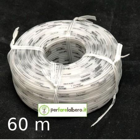 Rotolo Bobine Filo per legatrice PELLENC Fixion - Modello - Grigio Bio 60 metri
