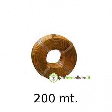 Rotolo Bobine Filo per legatrice PELLENC Fixion - Modello - carta 200 metri
