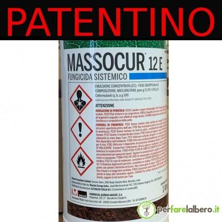 Massocur 12-E Fungicida Sistemico preventivo e curativo Miclobutanil 1 L