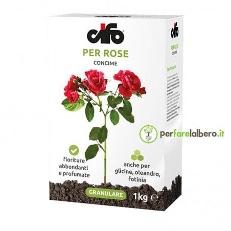 Concime Granulare per Rose e piante cespugliose Cifo 1 kg