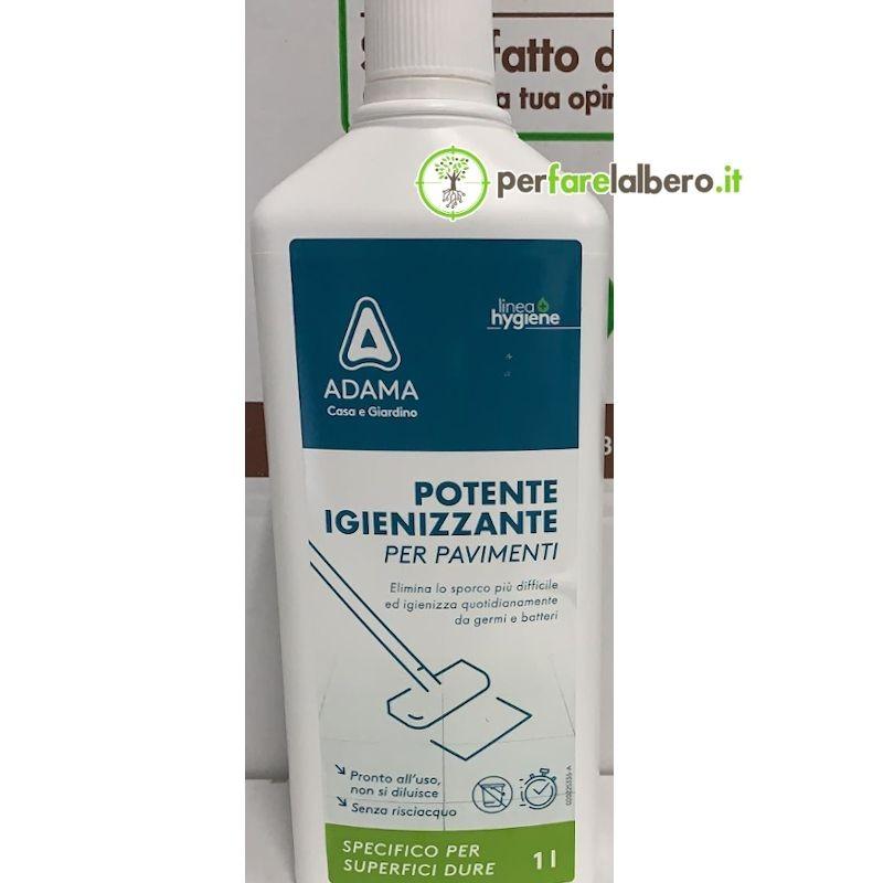 Potente Igienizzante liquido per pavimento Adama ipoclorito di sodio 1 L