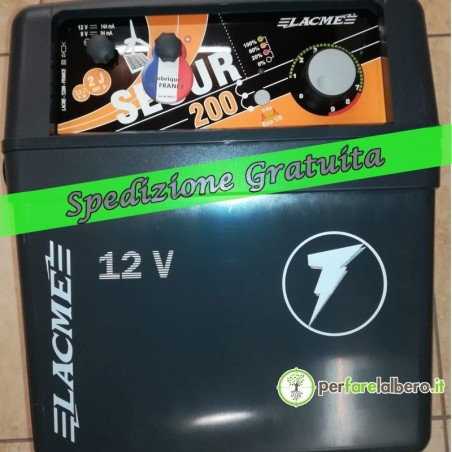 Recinto Elettrificatore SECUR 200 9/12V 2000MJ (senza pannello)