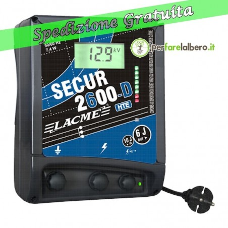 Recinto Elettrificatore Secur 2600-D HTE 220V Lacme 6000 MJ