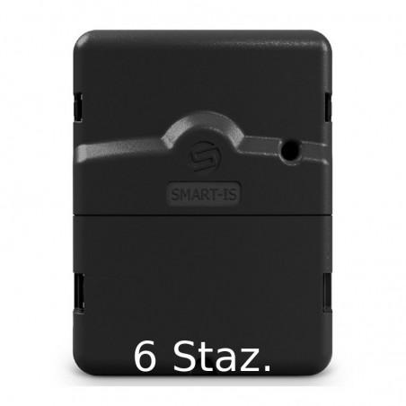 Programmatore per irrigazione Solem SMART-IS Bluetooth e Wifi 230/24V - Modello 6 stazioni