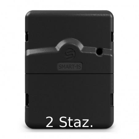 Programmatore per irrigazione Solem SMART-IS Bluetooth e Wifi 230/24V - Modello 2 stazioni