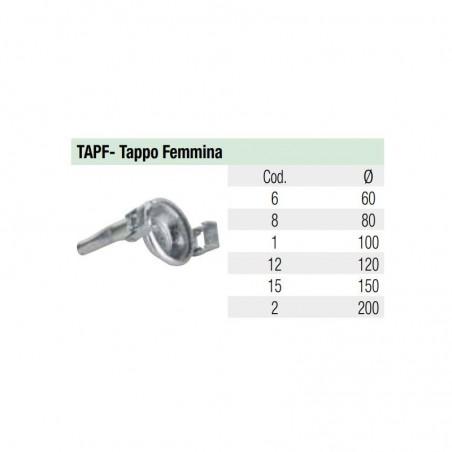 Tappo Femmina - Idroland Accessori sferici