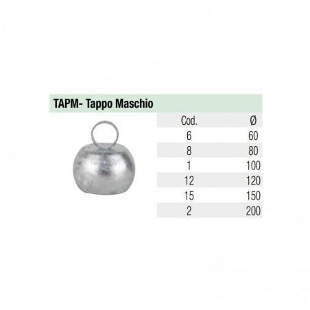 Tappo Maschio - Idroland Accessori sferici