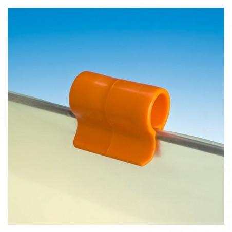 Pinza Omega ferma teli retinati e film plastici sul filo 1 pz