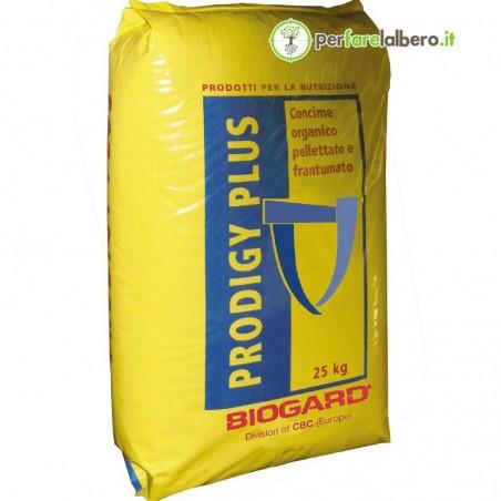 Prodigy Plus Biogard Concime organico pellettato 25 kg