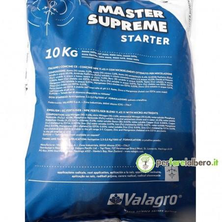 Master Supreme VALAGRO Concime idrosolubile 10 kg - STARTER
