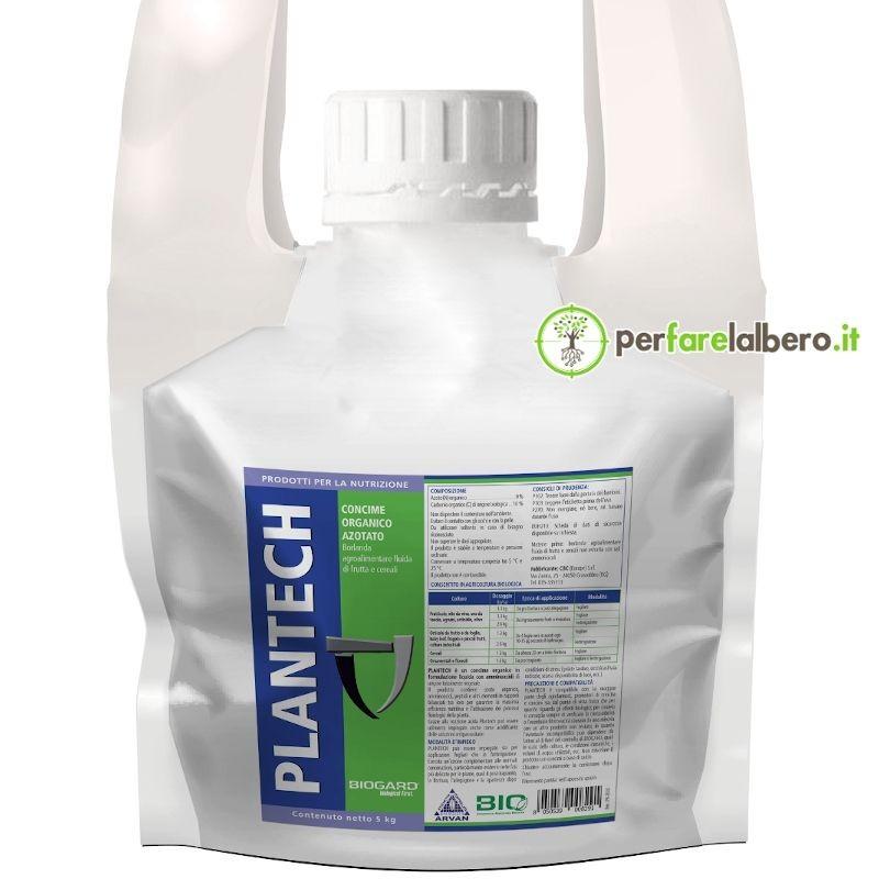 Plantech Concime organico azotato BIO Biostimolante Aminoacidi vegetali