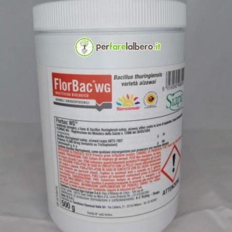 FlorBac WG PFnPE insetticida biologico Bacillus Thuringensis 500 g