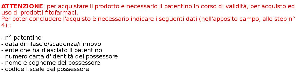 patentino
