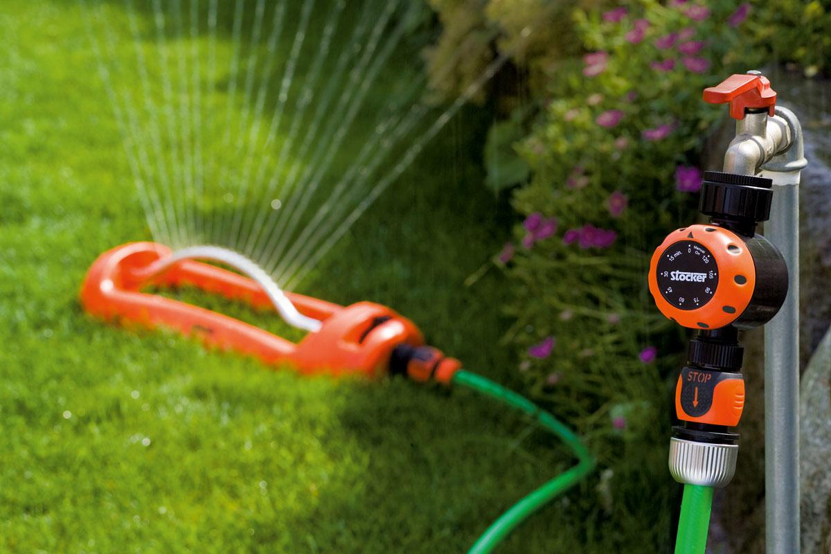 Programmatore irrigazione stocker water timer manuale for Programmazione irrigazione giardino